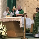Visit of Bishop Edward J. Burns to sacred Heart Feb. 11, 2018 photo album thumbnail 1